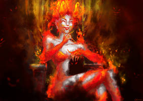 Demons will haunt you by Cutiezor