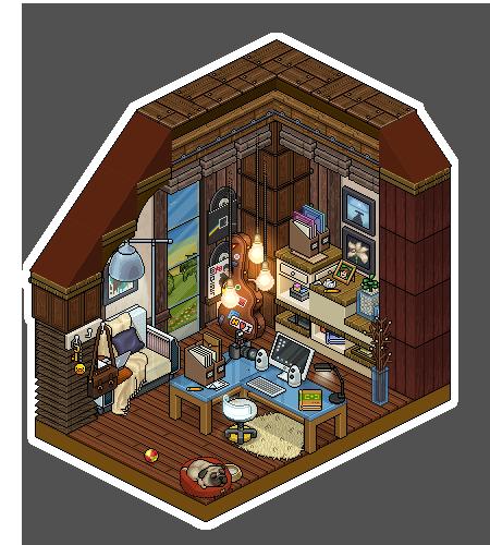 Rustic Office By Cutiezor On DeviantArt
