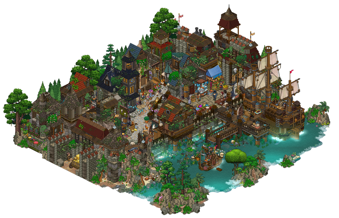 Port City By Cutiezor On Deviantart