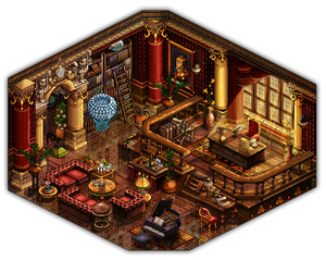 19th century study room ~ revived