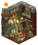 Cozy hobby room