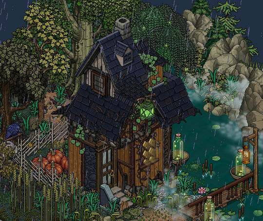 Witch S Cottage In The Woods By Cutiezor On Deviantart