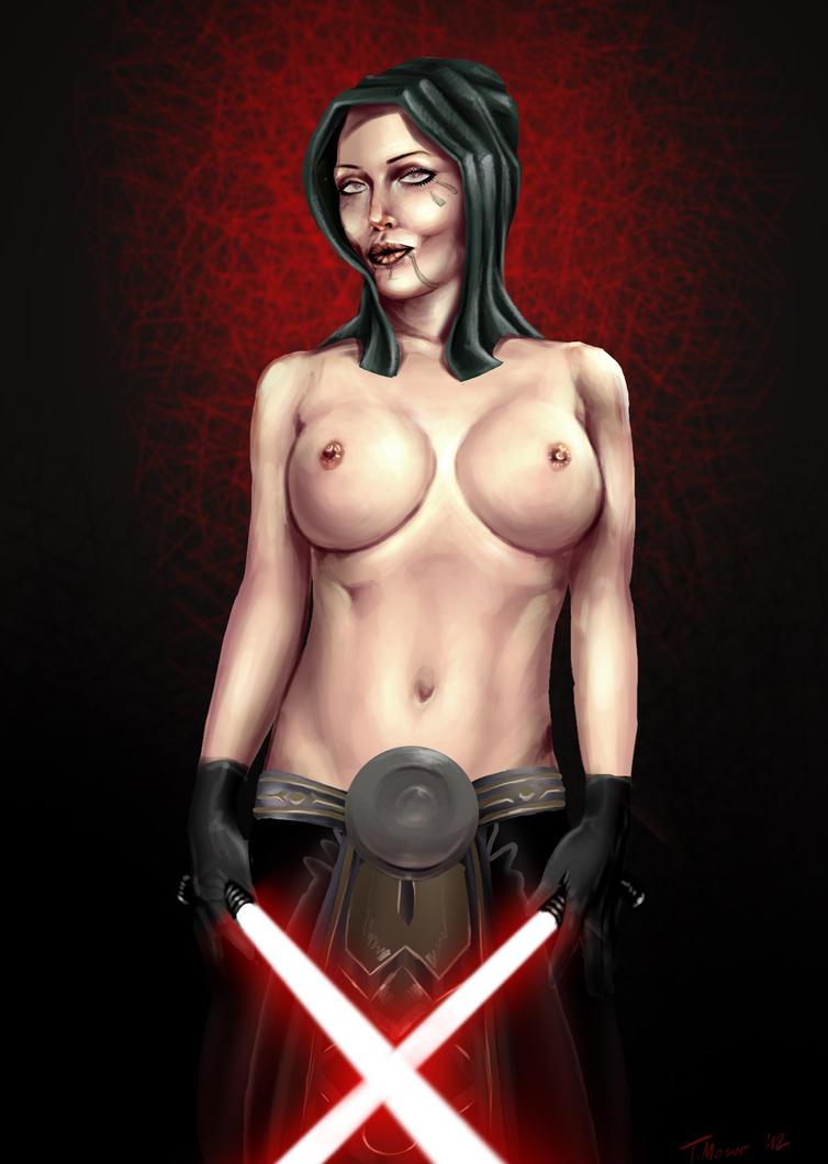 dark side propaganda poster by ogidan