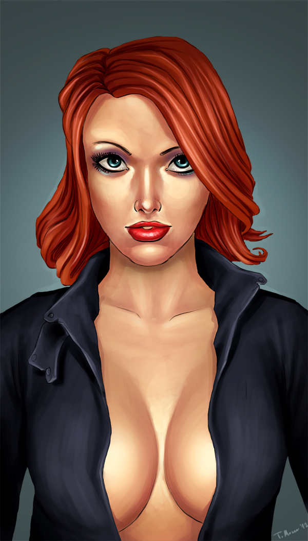 Black Widow by ogidan