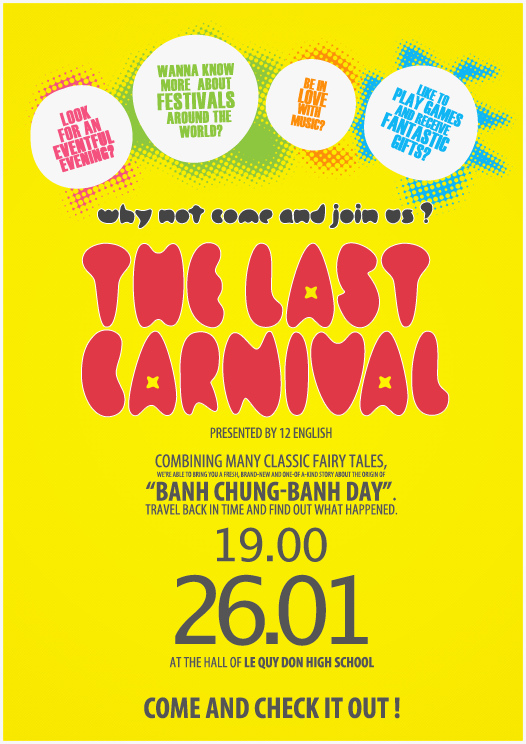 The Last Carnival Poster by imaxds on DeviantArt