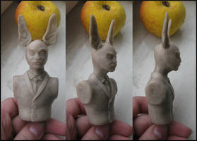 rabbitman by tiivik
