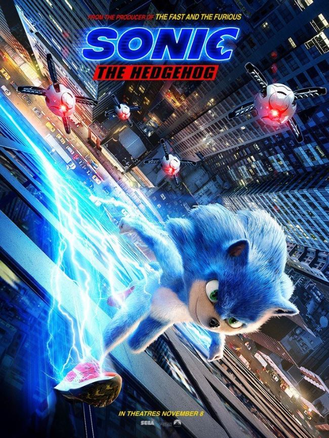 Sonic The Hedgehog New Poster And Trailer Link By Josh45667 On Deviantart