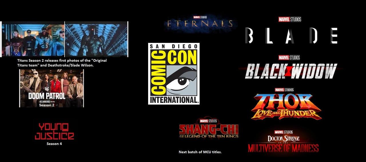 DC and Marvel comic con talk by josh45667 on DeviantArt