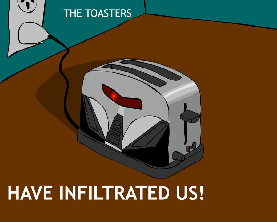 Cylon Toaster by Lord-Psymon