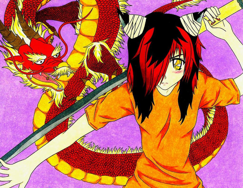 Riiku Dragon by japanese-freak-show