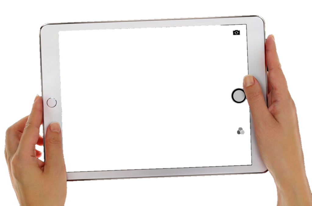 transparent ipad frame white - photo #34