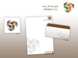 Nama Iran Co. - Identity by farshad