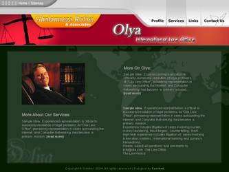 Olya.ir - Law Office by farshad