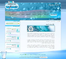 Abnic Website by farshad