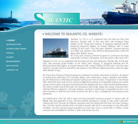 Sealantic Website