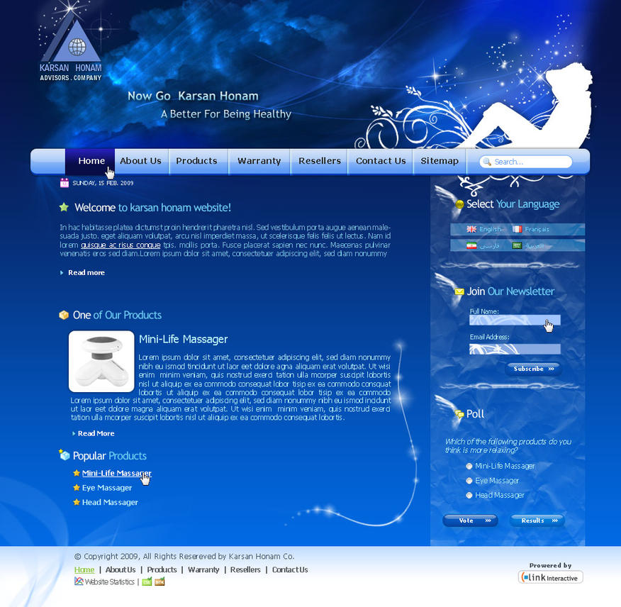 Karsan Honam Website