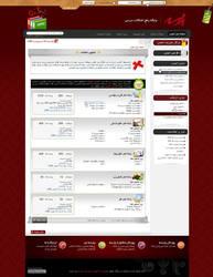Parseh Forum Interface