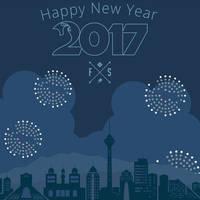 Happy 2017 by farshad