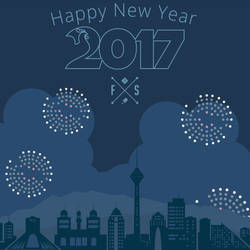 Happy 2017 by farshad