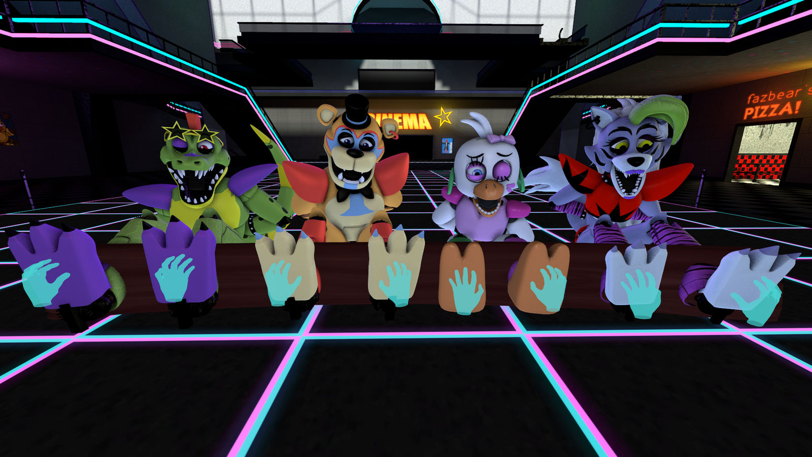 Fnaf Security Breach Tickle By Rolexroche On Deviantart