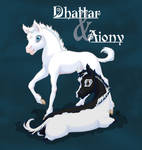 Dhattar and Aiony - fanart