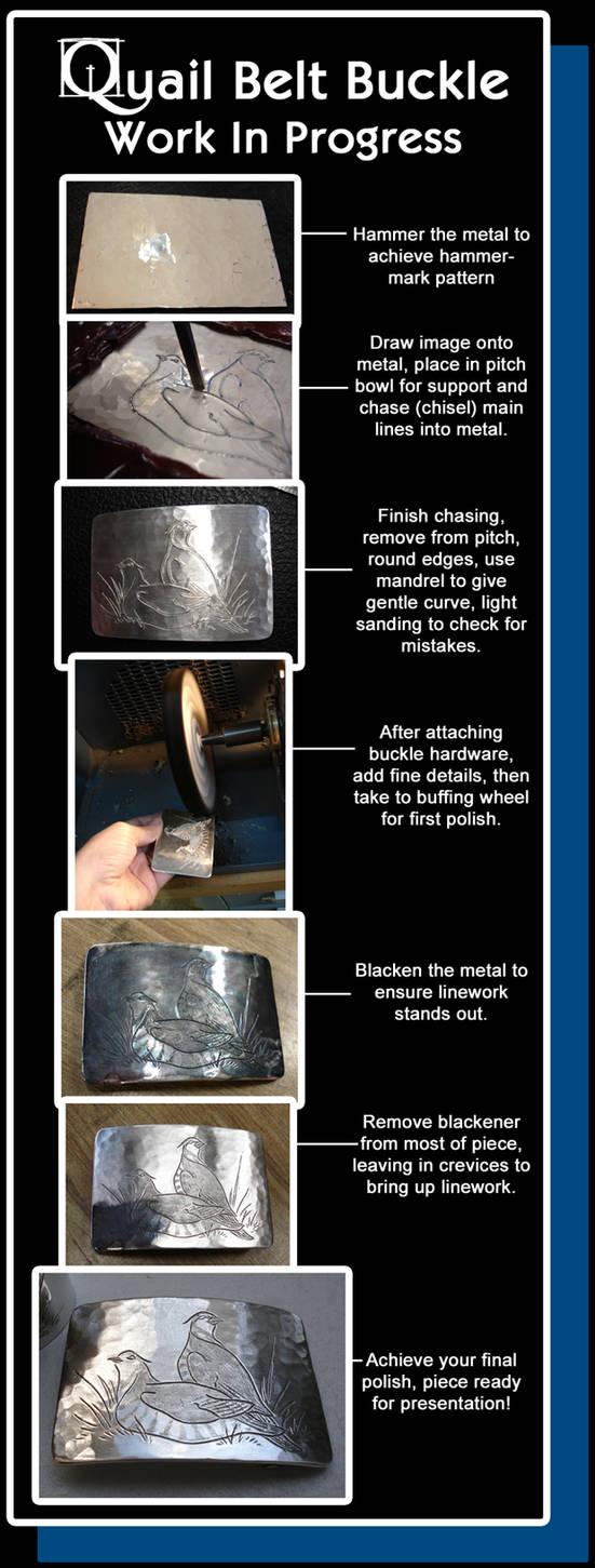 WIP - Quail Belt Buckle