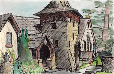Sierra Madre Episcopal Church 2017 by Dwelian