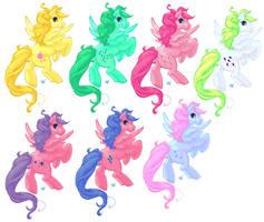 My Little Pony - Pegasi by Dwelian