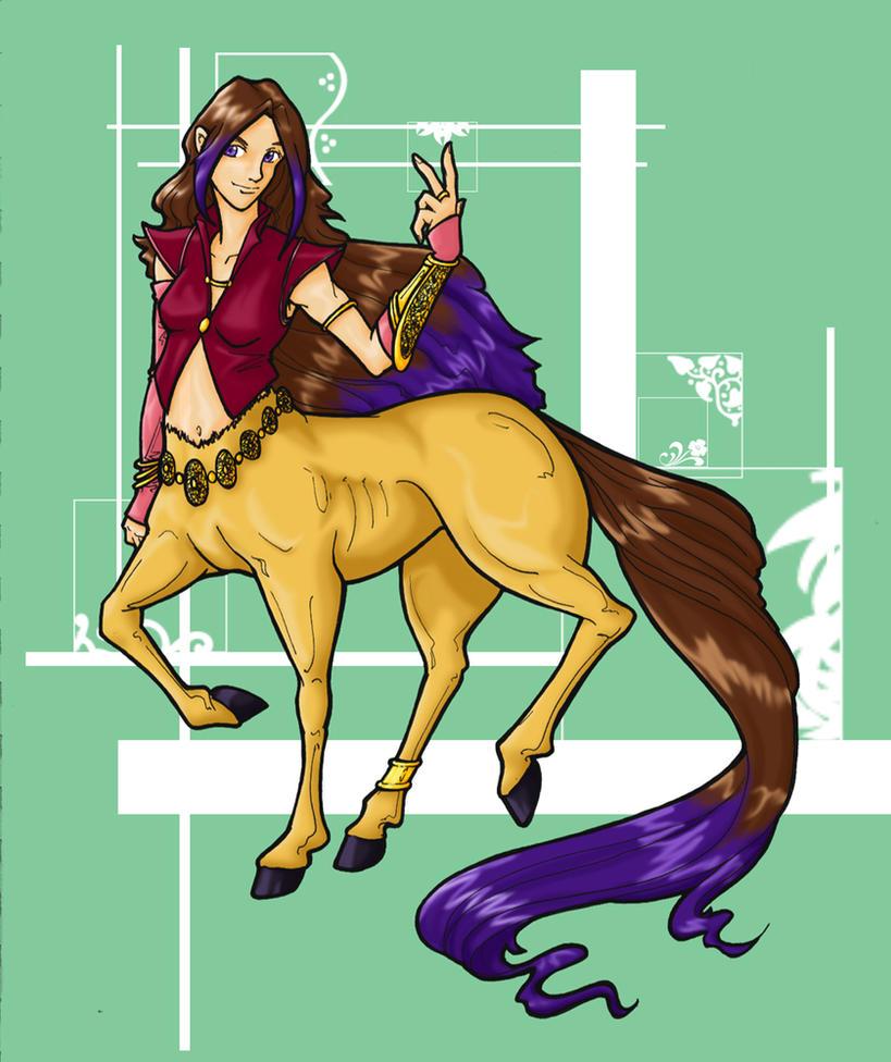 Centaur - Jewel by Dwelian
