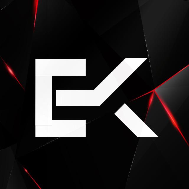 Ek logo design