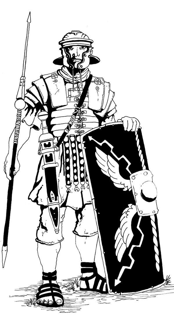 Legionarius by pictishscout