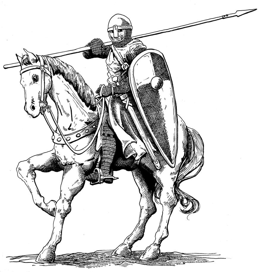 Norman Knight by pictishscout