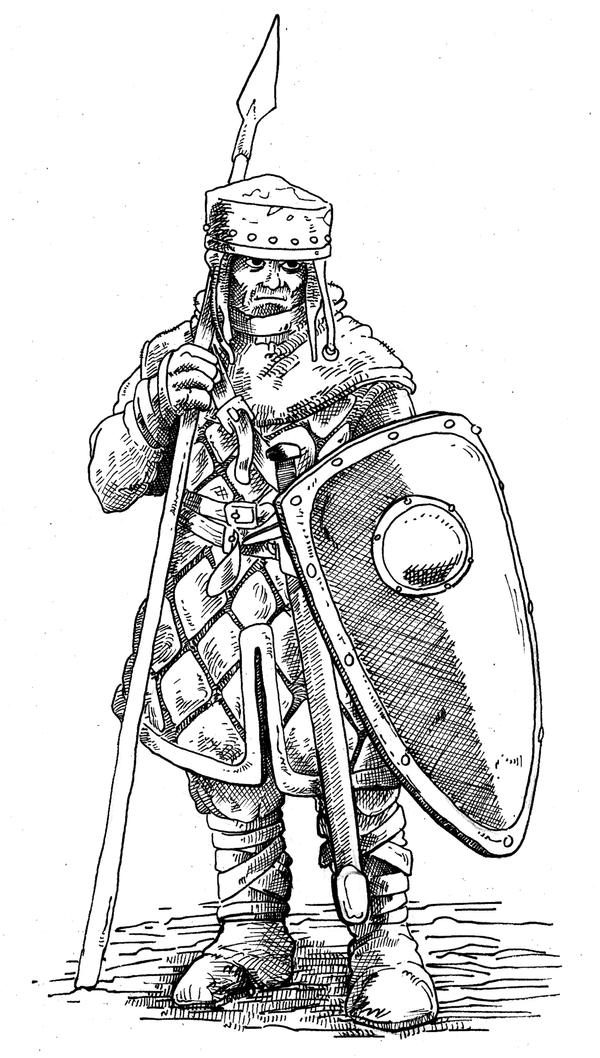 Medieval Soldier By Pictishscout On Deviantart