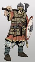 Grotte gothic warrior