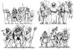 Kobold, Hobgoblins, Orcs and Goblins