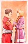 Boromir and Eowyn