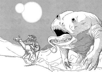 Desert Monster by pictishscout