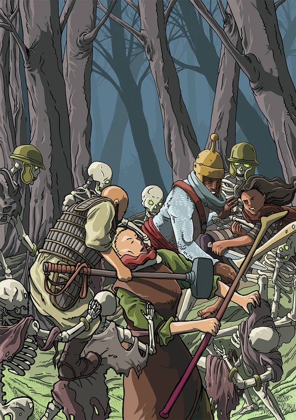 Undead forrest by pictishscout