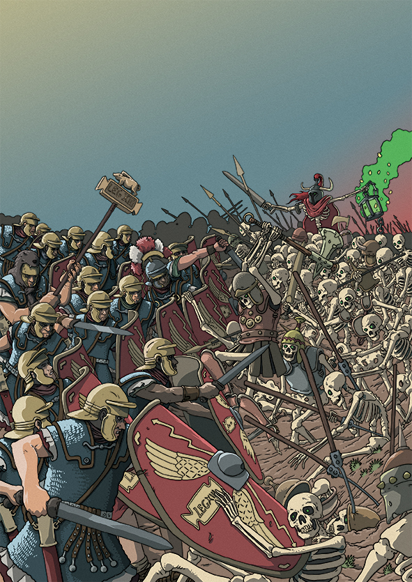 Romans and the undead