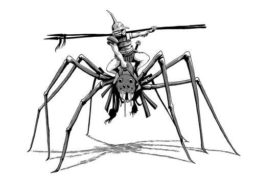 Hobgoblin Spider Rider