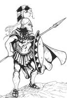 Hoplite by pictishscout