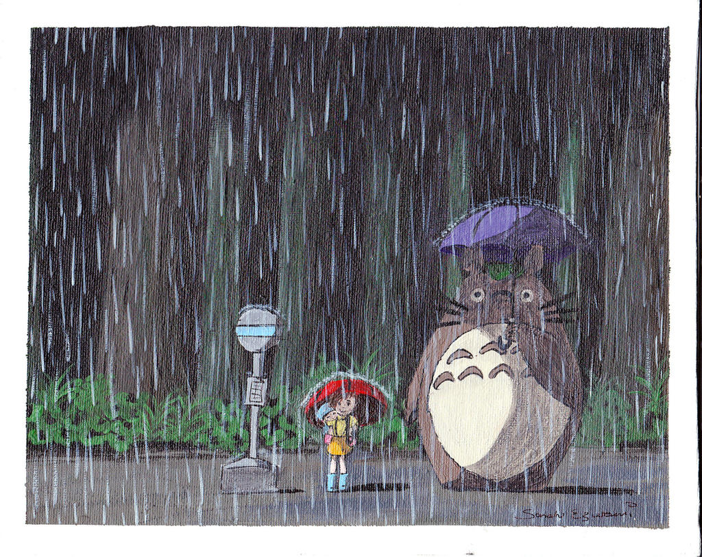 My Neighbour Totoro by swazilan