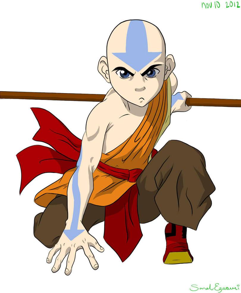 Avatar Aang: Avatar Aang By Swazilan On DeviantArt
