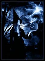 Blue Halloween by FaerieNymph
