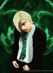 Portrait of Draco Malfoy by FaerieNymph