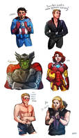Avengerswap by ironfries