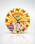 FUTURAMA Clock by mirzaercin