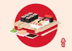 Sushi Isometric-01