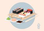 Sushi Isometric-02