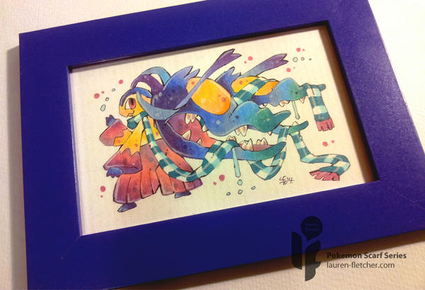 Pokemon Scarf Series: Mawile 9/9 (Framed) by cheru3